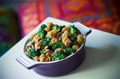 Whole Wheat Pasta with Broccoli and Mushrooms Recipe  #vegetables #wholewheat #low calories