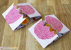 Daycare Crafts, Preschool Crafts, Easter Crafts, Photo Album Scrapbooking, Diy Scrapbook, Cute Cards, Diy Cards, Diy For Kids, Crafts For Kids