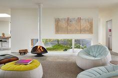Weiße apartment möbel minimalistische einrichtung in belgien