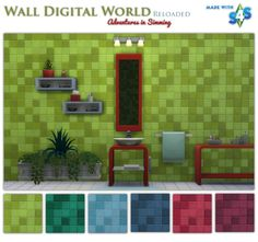 Wall texture at Adventures In Simming via Sims 4 Updates
