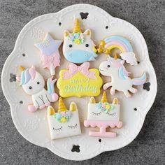 Cookie Cutters Glaseado Sugarcraft unicornio cabeza Galleta Fondant Pastelería Top Cumpleaños