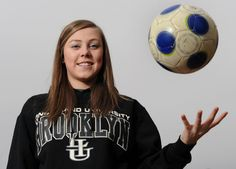 St. David Catholic Secondary School soccer player, Brooke Logel, landed a full scholarship at Long Island University in Brooklyn. N.Y.