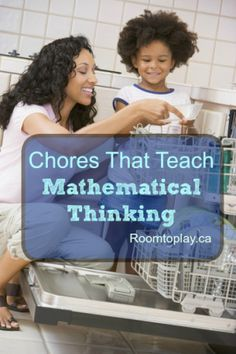 Easy ways to reinforce mathematical thinking around the house with simple chores! Classroom Activities, Classroom Organization, 3 Year Olds, Outdoor Education, Outdoor School, Forest School, Household Chores, Home Schooling, Teaching Tips
