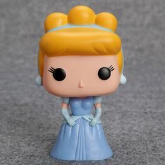 """FUNKO POP Princess Cinderella Tinker Bell Ariel Snow White PVC Action Figure Collection Toy Doll 4"""" 10CM TMD155"""