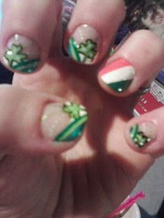 St. Patty's Day nails!