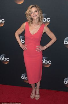 Smiling ear to ear: Kyra Sedgwick, who according to Variety is slated to star in a forthco...