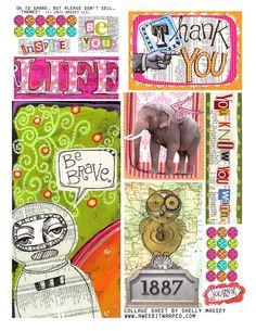 collage sheet FREE download