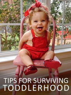 Tips for Surviving Toddlerhood