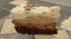 Gâteau aux trois chocolats (sans gélatine)