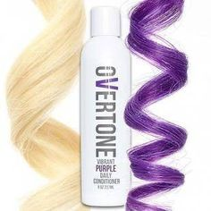 32 Amazing Gifts That Are Straight-Up Magic#amazing #gifts #magic #straightup Faded Purple Hair, Dyed Hair Purple, Little Girl Hairstyles, Pretty Hairstyles, Easy Hairstyles, Overtone Hair, Purple Shampoo, Shades Of Purple, Amazing Gardens