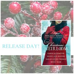 The Christmas Heirloom novella collection is now available!  You'll be treated to Christmas tales of an heirloom brooch passed from mother to daughter for almost two hundred years.  Will the family legend claiming the brooch brings love to its recipient hold true for these women separated by years but bonded together by the ties of family? #Christmas #love #stories #sweet #romance