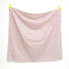 Nani Iro Kokka Japanese Fabric Colorful Pocho by MissMatatabi