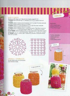 Crochet Gifts, Free Crochet, Knit Crochet, Granny Square Crochet Pattern, Crochet Stitches, Crochet Designs, Crochet Patterns, Crochet Plant Hanger, Crochet Home Decor