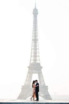 My favorite spot is the Eiffel Tower from the Trocadero perspective. Yes, the Eiffel Tower :-). I know it sounds totally cliche, but it is the truth. It lends itself to pretty much to any couple's shoot, including engagement, proposal, anniversary, and elopement. We have done it all there … many times.  The Trocadero perspective, despite of its ongoing 4-year construction which is only in its first year, offers the most famous and familiar view. It is also the most elevated vantage point to…
