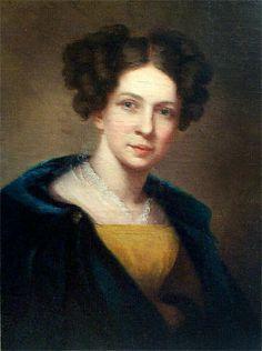 """Self Portrait"" by Sarah Miriam Peale (1830)"
