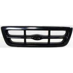 Ford Ranger Grille Ford Ranger 98-00 Grille, Painted-Black, 2wd (xl/xlt Models)…