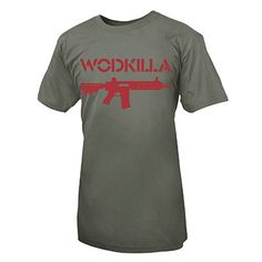 Men's CrossFit Apparel - LIFE AS RX WODKILLA SHIRT $35.00
