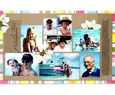Vacation Collage Pages