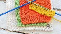 Trucos para los puntos de borde del tejido dos agujas palillos palitos tricot