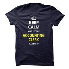 Let the ACCOUNTING CLERK T-Shirts, Hoodies. Get It Now ==►…