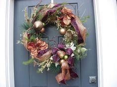 Custom Wreath by HappyHomeDesign