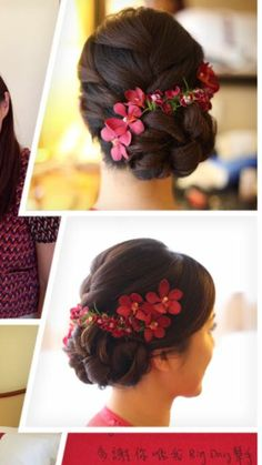 Bridal Hair Buns, Bridal Hairdo, Hairdo Wedding, Asian Bridal Hair, Wedding Hairstyles For Long Hair, Bride Hairstyles, Hairstyles Haircuts, Updo Hairstyle, Celebrity Hairstyles