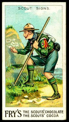 Tradecard - Boy Scout signs by cigcardpix, via Flickr