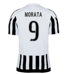 Maillot de foot Juventus Domicile 2015/2016 (9 Morata)