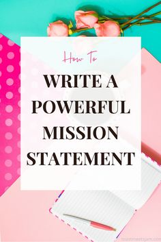 In this post you'll find a foolproof formula to help you write a powerful brand mission statement plus you'll get 20 examples of brand mission statements from women entrepreneurs to inspire your own business. Business Mission Statement, Creating A Mission Statement, Mission Statements, Vision Statement Examples, Personal Brand Statement Examples, Purpose Statement, Branding Design, Logo Design, Leader In Me