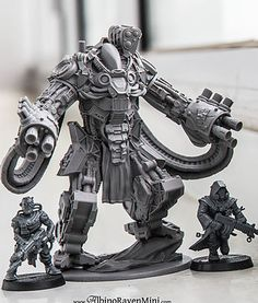 AlbinoRavenMini sci fi, history and fantasy miniatures | Purifier