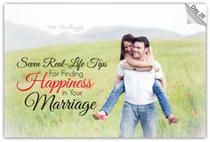 Day 26 - Brilliant Life 30-Day Challenge http://thinkbrilliantly.com/day-26-seven-real-life-tips-for-finding-happiness-in-your-marriage