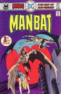 DC Comics' Man-Bat #1. Jim Aparo cover.   #ManBat #Batman #JimAparo
