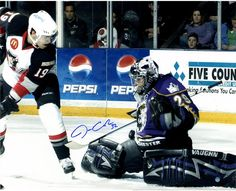 Jonathan Quick Signed Manchester Monarchs 16x20 Photo