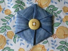 Tutorial--Folded Hexagon Yo-Yo - http://mousechirpy-polkadotpineapple.blogspot.com/2008/06/tutorial-folded-hexagon-yo-yo.html