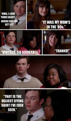 Not a fan of Glee, but this made me think of me and Steph.
