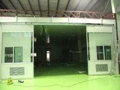 ประตูออโต้บานใหญ่ รางยาว 8.00 เมตร