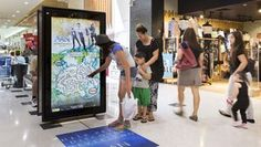 Australia's oOh!media launching new interactive retail digital signage screens