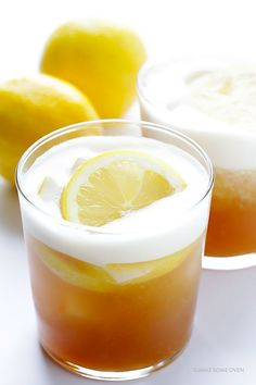 Maple Whiskey Sour -- naturally sweetened, and so refreshing!