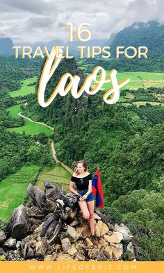 Laos is a nature lover's paradise and one of the greenest countries in Asia. Before you embark on your adventure, check out my travel tips for Laos to make your trip as smooth as possible. Laos Travel, Asia Travel, Solo Travel, Disney Travel, Cruise Travel, European Travel, Time Travel, Voyage Laos, Ecuador