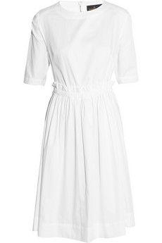 Vivienne Westwood Anglomania Pavillion cutout cotton dress | NET-A-PORTER