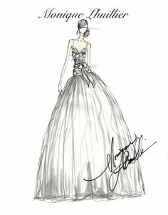 90 best sketches images fashion illustrations fashion drawings Wedding Dress Sketches monique lhuillier bridal sketch wedding dress illustrations wedding dress sketches wedding dresses