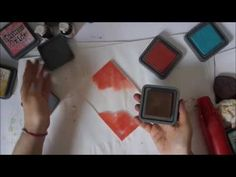 10 Ways to use Distress Oxide. Some interesting techniques. Wish there was a little more detail on some. Loved the look on gessoed book pages