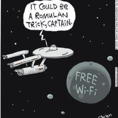 Free wifi- bad in every universe