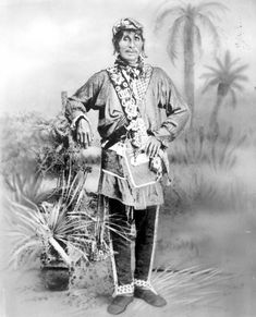 Tallahassee was a head-man of about 30 Seminole families who lived in Polk County from the 1850s until the 1890s (1884). | Florida Memory