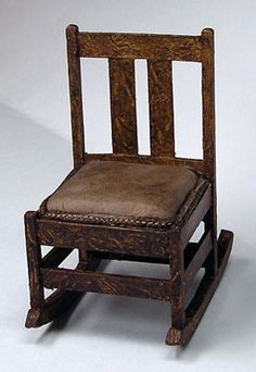 how to: Craftsman style rocking chair