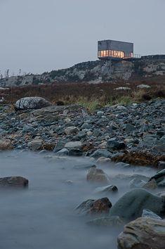 Proyecto de  Mackay-Lyons Sweetapple Architects en Nueva Escocia (Canadá)