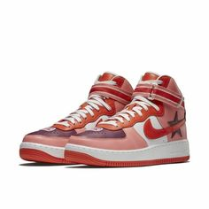 best service cdfc1 04d4a Nike Air Force 1 High x R.T. Riccardo Tisci Minotaurs AQ3366 Size 12 Pink  Af1