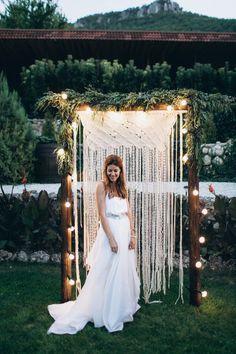 boho wedding dress платье невесты в стиле бохо