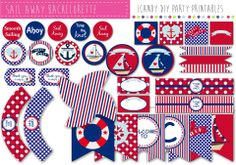 Nautical#ICandy Party Printables#Almost free http://icandyprintables.someammo.com/ranges/icandy-a-la-carte-menu