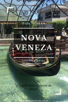 Saiba o que fazer em Nova Veneza, no sul de Santa Catarina. Conheça a cidade mais italiana do Brasil! #brasil #viagem #santacatarina